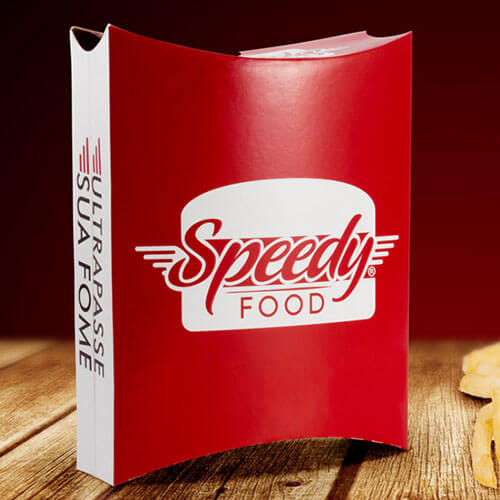 Embalagem para Delivery de Lanches Speedy Food