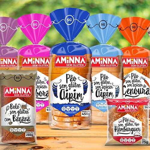 Embalagem para Pães e Bolos Aminna