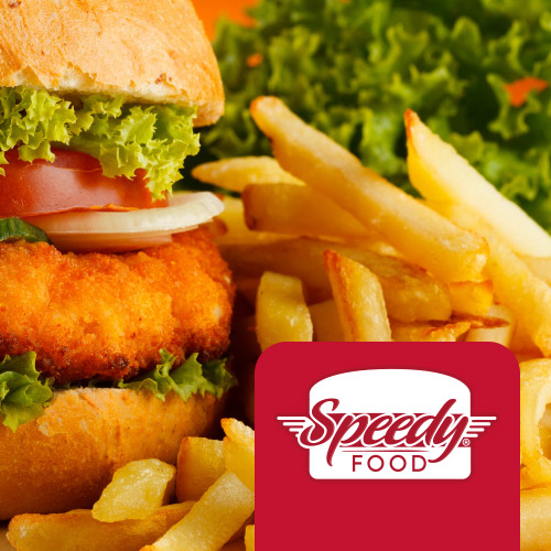 Branding para Delivery de Lanches Speedy Food