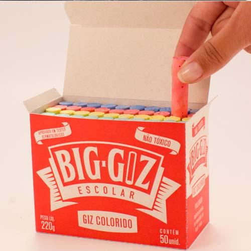 Branding e Embalagem para Big Giz