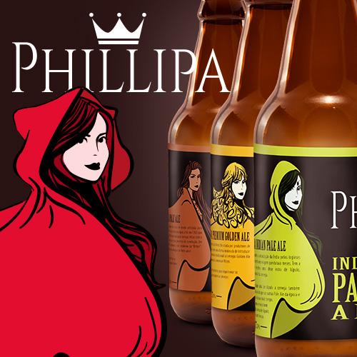 Rótulo de Cerveja Artesanal Philipa