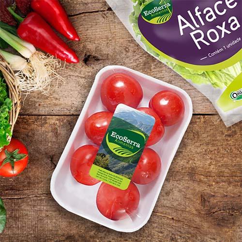 Embalagem para Verduras e Folhas Ecoserra