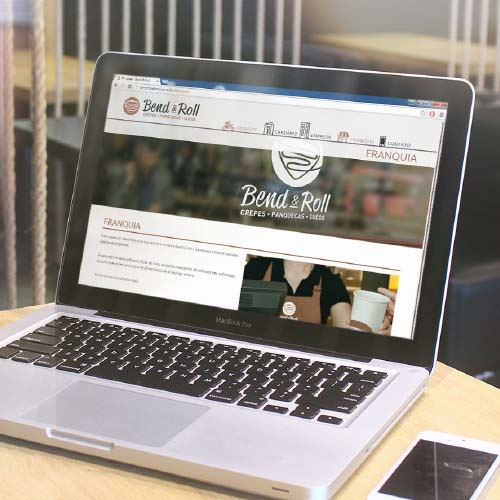 Website para Bend & Roll