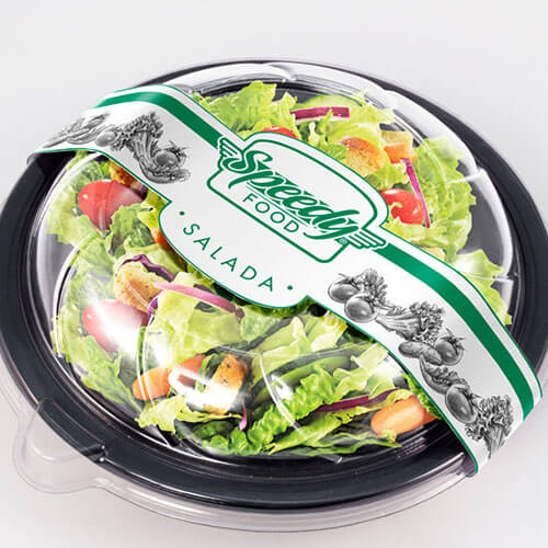 Embalagem para Delivery de Lanches Light