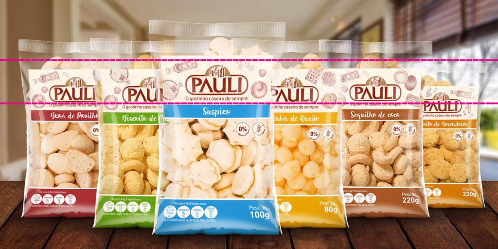 Embalagem de sucesso para bolachas e biscoitos.
