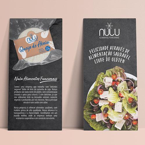 Branding para Nulu Alimentos Funcionais