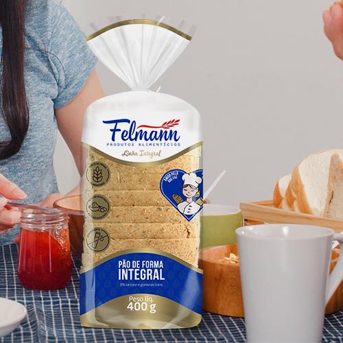 Embalagem para Pão de Forma Integral